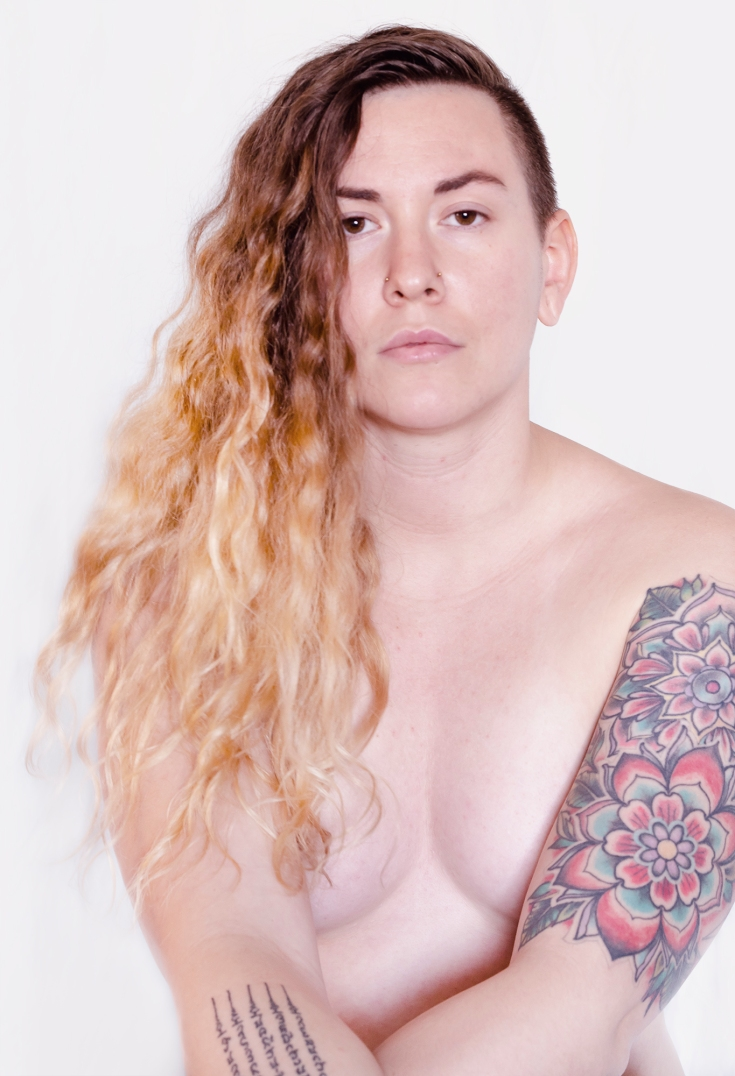 Body, LGBT, Gender Fluid, Self Portrait, Nude, Free The Nipple, Fine Art